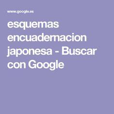 esquemas encuadernacion japonesa - Buscar con Google