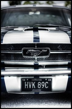 1965 Classic Ford Mustang - The one and only Pony Car. #RePin by AT Social Media Marketing - Pinterest Marketing Specialists ATSocialMedia.co.uk