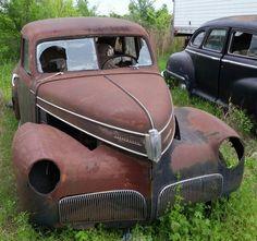 Studebaker Commander Found in Cheauteau, Oklahoma. Tripper's Travels.