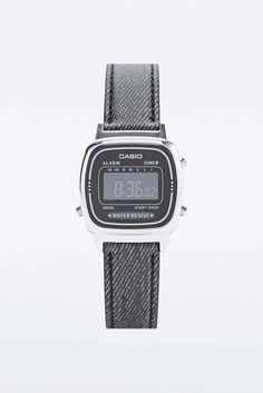 960a5c690bf7 Casio Mini Digi Watch in Black Denim