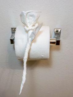 Toilet Paper Rose 650
