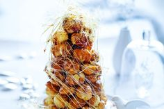 Receive a standing ovation with this stunning croquembouche creation.