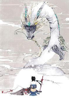 The Dragon and its Guardian by Ibuki May