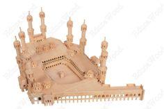 3D Wooden Puzzle - The Kaaba (Ka'aba) Model