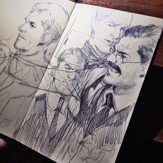 pencildrawlins - Wesley Burt