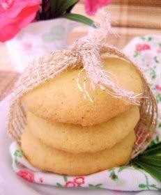 Para quem gosta de bolachinha com textura de bolo, esses cookies são perfeitos. Não foi à toa que a Patrícia os chamou de nuvenzinhas de l...