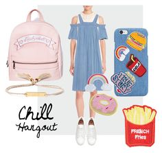 """Chill Hangout"" by hannasyh on Polyvore featuring Sugarbaby, 3.1 Phillip Lim, SJYP, Cara, Chloé and StreetStyle"