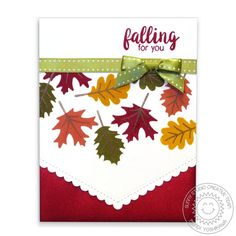 Autumn Splendor 4x6 Layering Photo-polymer Clear Stamps - Sunny Studio Stamps