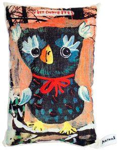 32 x 20cm Owl Pillow
