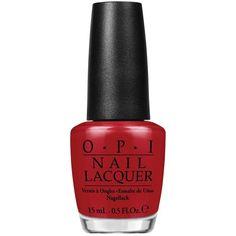 OPI Nail Lacquer ($16) ❤ liked on Polyvore featuring beauty products, nail care, nail polish, makeup, nails, beauty, esmaltes, fillers, opi nail care and opi nail polish