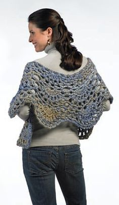Crochet Shawl Wrap, free and lovely, thanks so xox ☆ ★ https://www.pinterest.com/peacefuldoves/