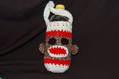 Posh Pooch usually designs items for pets but this great sock monkey water bottle holder is great for their owners.