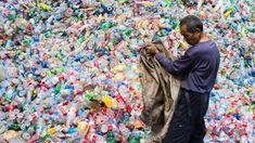 ●Scientists accidentally create mutant enzyme that eats plastic bottles! ● The breakthrough, spurred by the discovery of plastic-eating bugs at a Japanese dump, could help solve the global plastic pollution crisis Use Of Plastic, Plastic Waste, Global Plastic, Plastic Food Containers, Plastic Bottles, Plastic Bags, Soda Bottles, Water Bottles, Les Philippines
