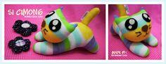 Cat Sock doll - visit http://kelingking-kecil.blogspot.com/2012/09/boneka-kaus-kaki.html
