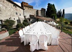 Bryllupsmiddag i Italia i romantiske omgivelser !  www.italienskebryllup.no