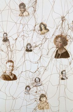 We are all connected...  Lisa Kokin artist  Constellation,