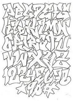 graffiti alphabet for graffiti project by nina - { Street Art } - Graffiti Images, Graffiti Designs, Graffiti Artwork, Graffiti Drawing, Street Art Graffiti, Graffiti Numbers, Graffiti Quotes, Graffiti Wallpaper, Graffiti Artists