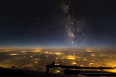 https://flic.kr/p/yaviZ4 | Milky Way from a plane | Taken from a Boeing 737NG at 39,000 feet over Germany. Canon 6D + Samyang 14 f2.8 14mm | f/2.8 | 10 seconds | ISO8000