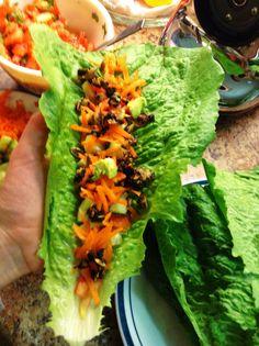 Raw Vegan, Low Fat Tacos!