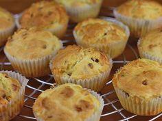 Muffins mit Südtiroler Speck und Bergkäse