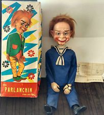 Rare 60's Mr Parlanchin Sailor dress Retro Ventriloquist Dummy Cremeal Remeal