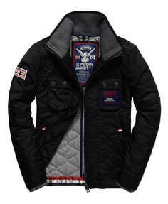 Superdry Nylon Quilt Jacket