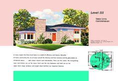c4c2d5623e501332854cdf53f4a7dfd5--ranch-home-plans-family-houses  S Mid Century Modern Split Level House Plans on