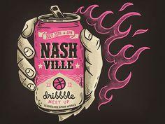 Nashville Dribbble Meetup - July 25th