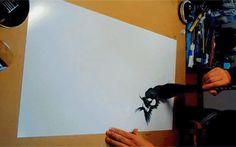 UN DRAGO PIENO DI DETTAGLI DIPINTO CON UN SOLO COLPO DI PENNELLO Una serie di video, documentano la tecnica pittorica tradizionale giapponese, hitofude-ryuu. E' un tipo di pittura a inchiosto che consiste nel dare forma alla testa del drago, per completare l'opera #arte #pittura #giappone #drago