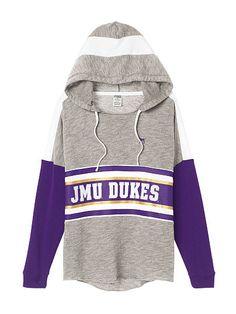 James Madison University Varsity Pullover Hoodie - PINK - Victoria's Secret