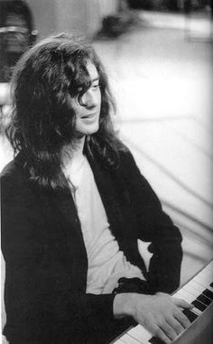 Jimmy Page on keyboards