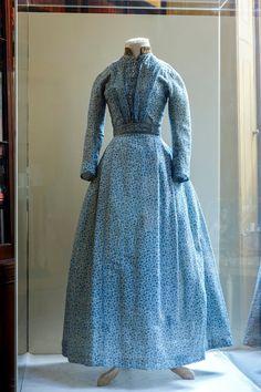 Image courtesy of the Sir John Soane's Museum - photo credit © Gareth Gardner Charlotte Bronte, Historical Costume, Historical Clothing, Vintage Dresses, Vintage Outfits, Victorian Dresses, Victorian Era, Pioneer Dress, Bronte Sisters