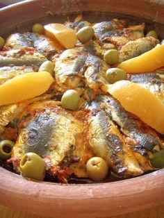 Tajine de sardines et pomme de terre (Maroc)
