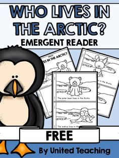 Lives in the Arctic? Free Emergent Reader Who Lives in the Arctic? Free Emergent Reader >> Great as an addition to a unit on Arctic animals!Who Lives in the Arctic? Free Emergent Reader >> Great as an addition to a unit on Arctic animals! Animal Activities, Winter Activities, Classroom Activities, Preschool Winter, January Preschool Themes, Preschool Printables, Kindergarten Science, Kindergarten Reading, Winter Fun