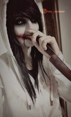 Old Jeff the killer cosplay by HazyCosplayer - COSPLAY IS BAEEE!!! Tap the pin now to grab yourself some BAE Cosplay leggings and shirts! From super hero fitness leggings, super hero fitness shirts, and so much more that wil make you say YASSS!!!