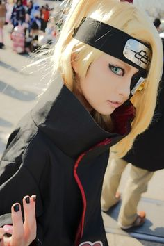 あどけない狂気 - SAKI(鎖鬼) Deidara Cosplay Photo - Cure WorldCosplay
