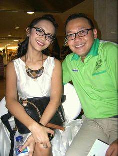 With Nina Tamam