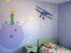 Le petit prince ... Les étoiles sont fluorescentes juste le temps que notre petit(e) bambino s'endorme !