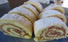 Swiss Cake, Czech Recipes, Sweet Recipes, The Best, Rolls, Food And Drink, Cooking Recipes, Bread, Apple