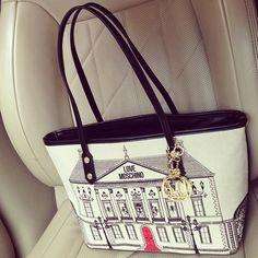 Photo by anna_grafova #moschino #bag #love #mymoschino