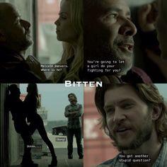 #Bitten | Elena and Clay