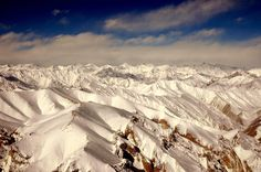 Himalayas from 6000 meters. ladakh india.  http://www.peakadventuretour.com