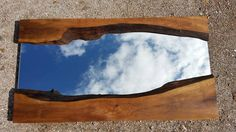 Hey, I found this really awesome Etsy listing at https://www.etsy.com/uk/listing/249715889/modern-wall-mirror-wooden-live-edge