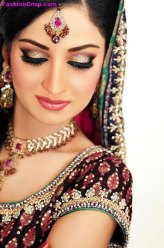 For all kinds of latest Bridal Dresses Fashions makeup jewellery and other girls/women related fashion,clothing,shoes,beauty tips,make up,hand bags and many more visit our website www.FashionCrisp.com