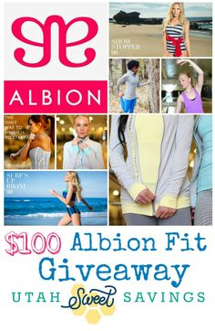 Albion Fit Giveaway Fun Workout Ideas From My Friends + $100 Albion Fit Giveaway!