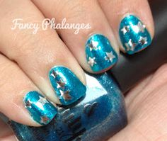 Fancy Phalanges: Teal Tuesday: Stars