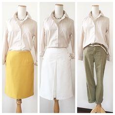 骨格タイプ:ストレートのスタンダードシャツ☆ |Rays|流行よりもあなたに似合う色とカタチをコーディネート