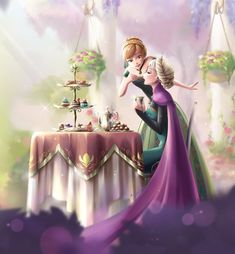 Chocolate time - After story [Frozen] by DarikaArt on deviantART