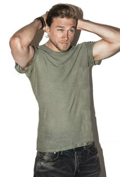 Men's Health magazine Charlie Hunnam love him as Jax in Sons Brad Pitt, Gorgeous Men, Beautiful People, Charlie Hunnam Soa, Le Male, Plaid Pants, Raining Men, Good Looking Men, Poses