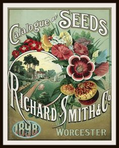 Richard Smith & Co. Catalogue of Seeds, 1898